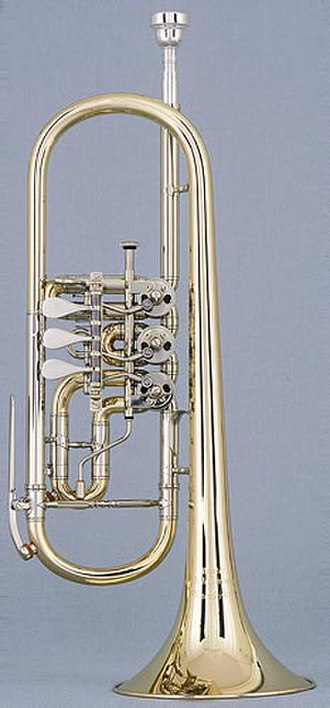 Trumpet - Trumpet in C with rotary valves