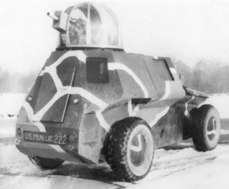 Preston Tucker - The Tucker armored combat car. Note the Tucker Turret.