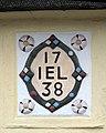 Tudor Rose Cottage - plaque - geograph.org.uk - 1403142.jpg