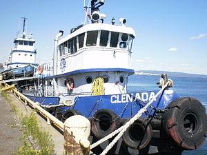 MV Glenada - Image: Tug Glenada