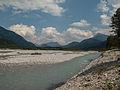 Tussen Weissenbach en Forchach, de Lech foto7 2014-07-25 13.33.jpg
