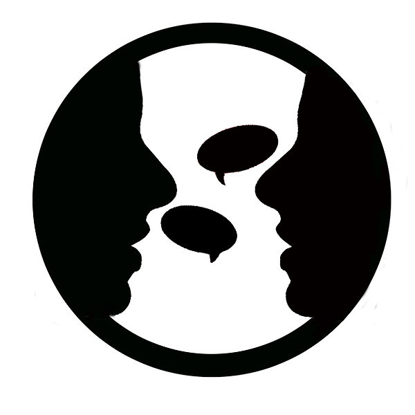 File:Two-people-talking-logo.jpg