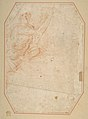 Two Nudes Seen from Below (recto); Male Figure with Upraised Arm (verso) MET DP811480.jpg