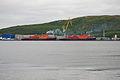 Two Russan Nuclear icebreakers in Murmansk.jpg