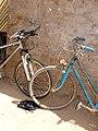 Two bicycles in Burkina Faso, 2009.jpg