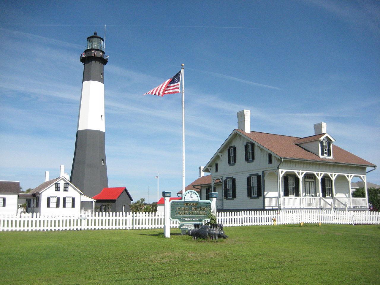Tybee Island Lighthouse.