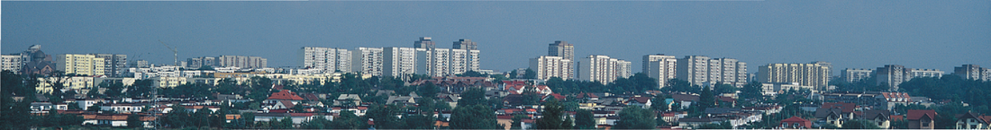 Panorama of Tychy