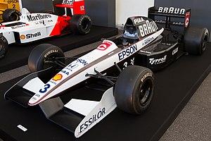 Tyrrell 020 - Image: Tyrrell 020 front left 2012 Japan