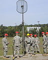 U.S. Soldiers train to assemble and erect an antenna at Fort Gordon, Ga., April 17, 2009 090417-A-NF756-002.jpg