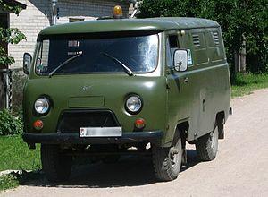 UAZ-452 -  UAZ-452 left front