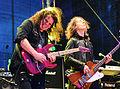 UFO - Vinnie Moore & Rob de Luca – Hamburg Harley Days 2015 01.jpg
