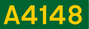 A4148 road shield