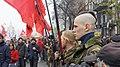UNA-UNSO members at the European Square in Kiev, November 24, 2014.jpg