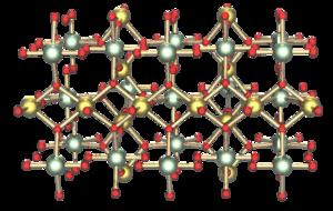 Kristallstruktur von γ-Urantrioxid
