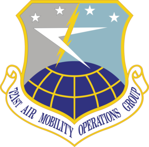 721st Air Mobility Operations Group - Emblem of the 721st Air Mobility Operations Group