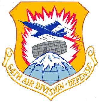 64th Air Division - Image: USAF 64th Air Division Crest