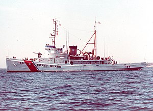 1991 Perfect Storm - ''Tamaroa'', a Coast Guard cutter that rescued the crew of a downed Air National Guard helicopter