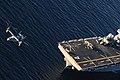 USS Boxer conducts flight operations. (8475449835).jpg
