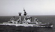 USS Chicago (CG-11) underway in the Western Pacific on 14 March 1978 (USN 1172569)