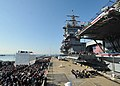 USS Enterprise is inactivated after 51 years of service. (8240476467).jpg