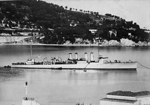 USS Gregory (DD-82) - USS Gregory (DD-82) at anchor in an unknown port c1919