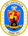 USS Louisiana SSBN 743 COA.png