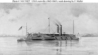 USS <i>Louisville</i> (1861) Union ironclad
