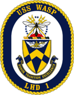USS Wasp (LHD-1) crest
