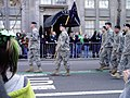 US Military marching in the 2010 Saint Patrick's Day Parade.jpg