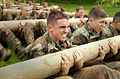 US Navy 030513-N-5319A-006 Plebes participate in an 11.5 hour rigorous physical and mental challenges at the United States Naval Academy.jpg