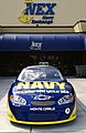 """US Navy 030917-N-5862D-015 No. 14 Navy """"Accelerate Your Life"""" Chevrolet Monte Carlo show car on display.jpg"""