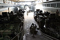 US Navy 040222-M-4806Y-002 Marines and Sailors aboard the amphibious dock landing ship USS Fort McHenry (LSD 43) prepare for exercise Balikatan 2004.jpg