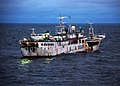 US Navy 090817-G-6414E-003 u Feng, a Taiwanese-flagged fishing vessel suspected of illegal fishing activity, moves through the water.jpg