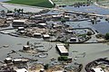 US Navy 100904-M-3497D-266 An aerial view of flooding in Pakistan taken from a an CH-46E Sea Knight helicopter assigned to the White Knights of Marine Medium Helicopter Squadron (HMM-165) Reinforced.jpg
