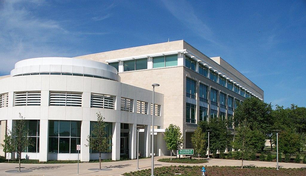 University Of Texas At Dallas Academic Programs - File:UT Dallas School of Management.jpg - Wikimedia Commons
