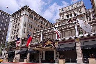 U.S. Grant Hotel - Facade of the U.S. Grant Hotel
