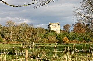 Udny Green village in United Kingdom
