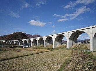 Jōshin-etsu Expressway - Expressway in Ueda, Nagano