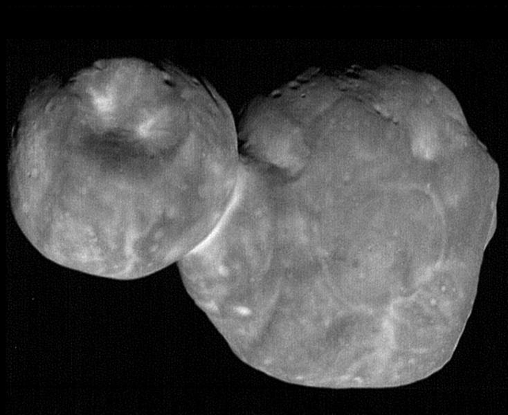 New Horizons image of 486958 Arrokoth