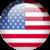 United States flag orb