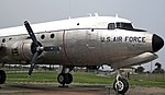 United States Air Force - Douglas Aircraft Company C-54D Skymaster cargo plane 3 (29265462947).jpg
