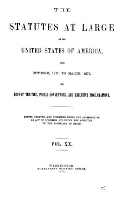 United States Statutes at Large Volume 20.djvu