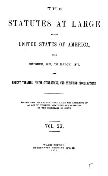File:United States Statutes at Large Volume 20.djvu