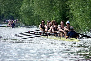 University College Boat Club (Oxford) - Men's 1st VIII Summer Eights 2007 coxed by Acer Nethercott