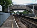 Upper Halliford stn look east.JPG