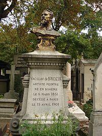 Václav Brožík, cimetière Montmartre 03.JPG