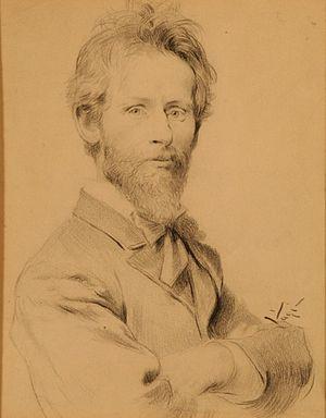Pál Vágó - Self-portrait (date unknown)