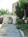 Vítkov, hřbitovní kostel, schody.JPG