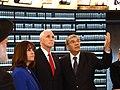VP Mike Pence visits Yad Vashem Holocaust Museum (24991749977).jpg