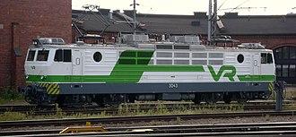 VR Class Sr1 - VR Class Sr1 number 3043 at Kouvola station in 2011